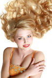 Close-up of beautiful young woman Royalty Free Stock Photography