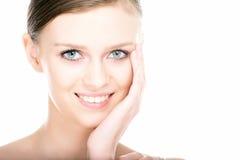 Close-up beauty girl portrait Stock Photography