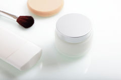 Close up of beauty hygiene container Stock Image