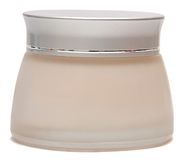 Close up of beauty hygiene container Royalty Free Stock Photos