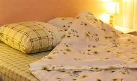 Bed clothes Royalty Free Stock Photo