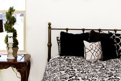 Close up on a Bedroom Royalty Free Stock Photo