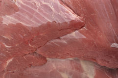 Close up of beef. Close up of piece of beef Royalty Free Stock Images