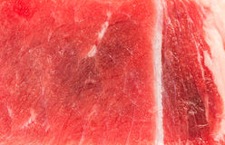 Close up of beef steak texture Royalty Free Stock Photography