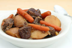 Close up of beef stew Royalty Free Stock Image
