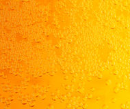 Close up of beer bubbles Stock Images