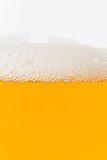 Close up of beer bubbles Stock Image