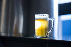 Close-up of beer pint Stock Image