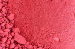 Close-Up of Beetroot Powder Stock Photos