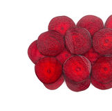 Close up of beetroot slices. Stock Images