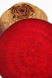 Close up of beetroot Stock Photos