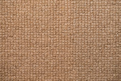 Close up beige color carpet texture Stock Images