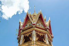 Close up bell building in Thai temple Royalty Free Stock Photography