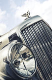 Close up of Bentley Insignia and Hood Ornament Stock Images