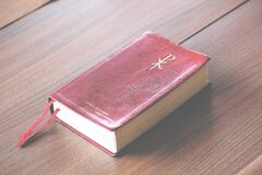 Close-up of A Bible Stock Images