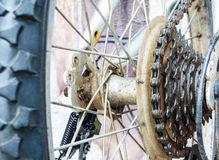 Close up of bicycle gear Royalty Free Stock Image