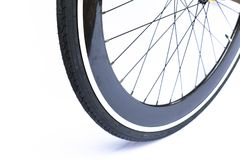 Close up of bicycle Stock Images
