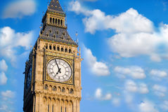 Close up big ben Royalty Free Stock Photos
