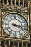 Close-up of Big Ben. Close up of the clock face of Big Ben in London, England Stock Photography