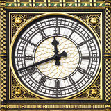 Close-up of Big Ben, Clock Tower, Westminster Pala Stock Images
