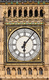 Close up of Big Ben`s Clock Face Royalty Free Stock Image