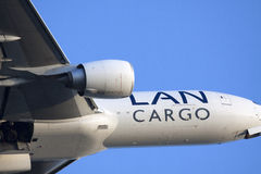 Close up of a Big cargo plane Stock Photos