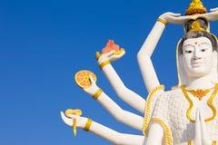 Close up of Big Guan Yin statue Stock Image