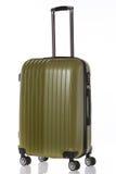 Close up big  luggage isolated on white background Stock Photography