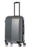 Close up big  luggage isolated on white background Stock Images