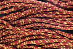 Close up of bight of rope Royalty Free Stock Photography