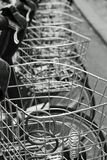 bicycle baskets Stock Photography