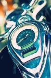 Close up of a bike speedometer Royalty Free Stock Image