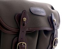 Close up of Billingham Hadley small shoulder bag Royalty Free Stock Photography