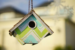 Close-up of a Bird House Stock Images