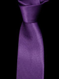 Close-up on a black background ties. Tie, purple tie, black background, Close-up on a black background ties Royalty Free Stock Images