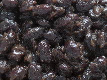 Black bean sauce Stock Photos