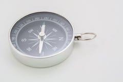 Close up black compass Stock Photos