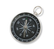 Close up black compass  Stock Photo
