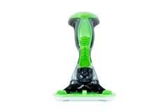Close-up of a black & green razor Royalty Free Stock Photos