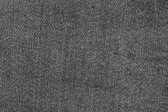 Close up of black jean texture Stock Photography