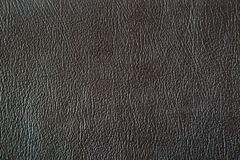 Close up black leather and texture. Background Royalty Free Stock Images