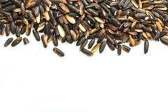 Close up black sticky rice Stock Photo