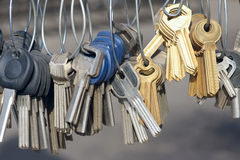 Blank keys Royalty Free Stock Image