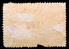 Blank postage stamp texture Stock Image