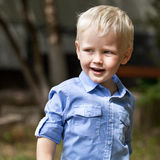 Close up, Blonde baby boy Stock Photos