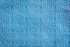 Close up blue carbon paper texture and background Royalty Free Stock Photo