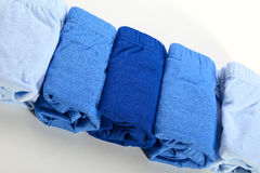 Blue underpants Stock Photos