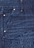 Close-up blue denim. Stock Photos