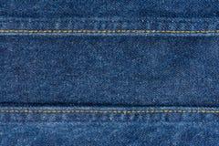 Close up of blue denim jeans. Denim jeans texture stock image