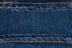 Close up of blue denim jeans. Denim jeans texture stock images